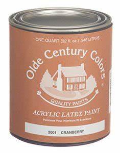 Buttermilk 2030 Olde Century Colors Acrylic Paint Quart