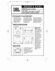 Download Free Pdf For Jbl Northridge Series N26 Speaker Manual