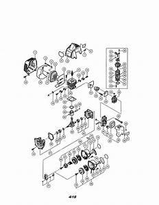 Hitachi Cg22eap2 Gas Line Trimmer Parts
