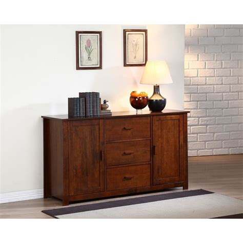 Sideboards Cabinets by Dallas Walnut Buffet Storage Furniture Cabinet Sideboard