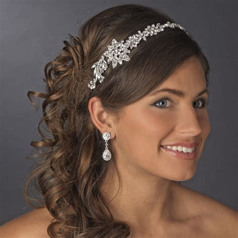 Vintage Bridal Headpiece with Side Accent HP 17966 Antique ...