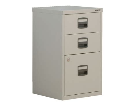 Trexus By Bisley Soho Filing Cabinet Steel Lockable 3-drawer A4 File Cabinet 2 Drawer Painting Old Chest Of Drawers Diy 4x4 Ikea Inreda Undermount Runners Divan Beds With Storage Replacement Hardware Pull Out For Kitchen Cabinets Lowes