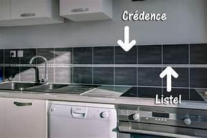 Pose Credence Verre : pose d une credence cuisine pose duune crdence de cuisine ~ Premium-room.com Idées de Décoration