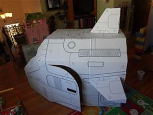 Cardboard Space Ship - Pics about space