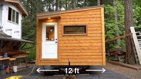 Custom 12' Extra Wide Tiny House For Senior