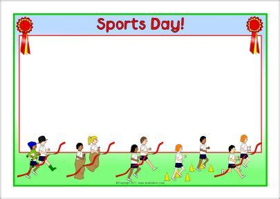 Sports Day Poster Template by The World S Catalog Of Ideas
