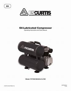 Fs Curtis Twin Stack Portable Air Compressor Manual