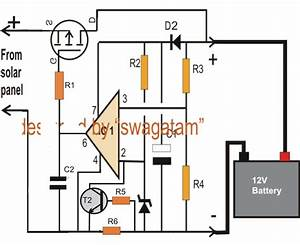 Simple Zero Drop Solar Charger Circuit