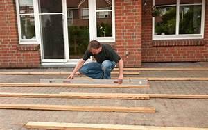 Eine terrasse im garten selber bauen 4 schritt anleitung for Terrasse im garten bauen