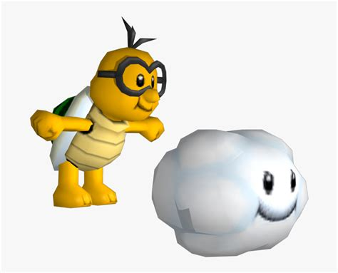 Wii New Super Lakitu - New Super Mario Bros Wii Lakitu, HD ...
