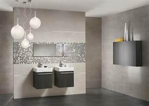 55 idees de carrelage design pour votre salle de bains moderne With idee carrelage salle de bain
