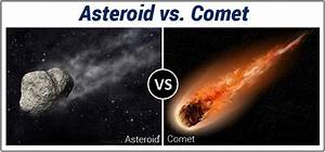 Asteroid And Comet - Difference and Comparision