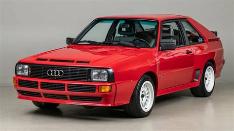 Audi Quattro For Sale Usa by Try Not To Drool This 1986 Audi Sport Quattro For Sale
