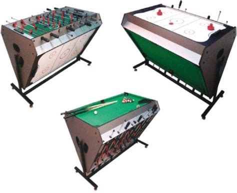 3 In 1 Games Table Football Table Pool Air Hockey