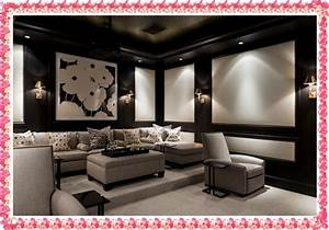 Ideas the home theater decor wall art