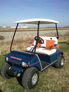 Chicago Bears Golf Cart