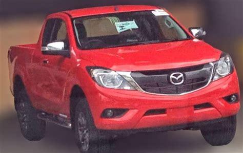 Mazda Bt-50 Facelift Leaked On Thai Social Media