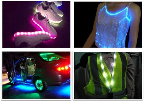wearable led lights 3v 3528 smd wearable led strips lighting led for