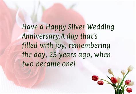 25 wedding anniversary 25th wedding anniversary quotes happy quotesgram
