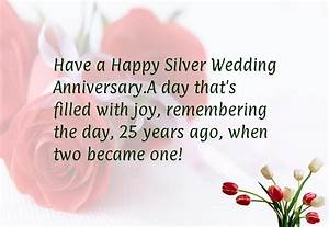 25th wedding anniversary quotes happy quotesgram With 25 year wedding anniversary
