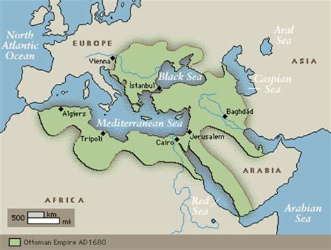 Ottoman Empire 1500s by Quia World History Ii Midterm Review Terms