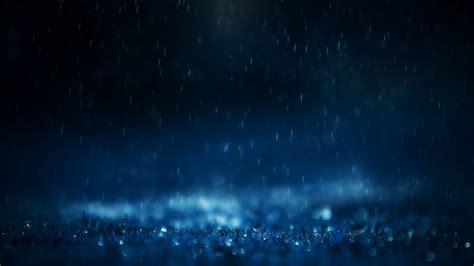 blue rain drops close   wallpaper hd