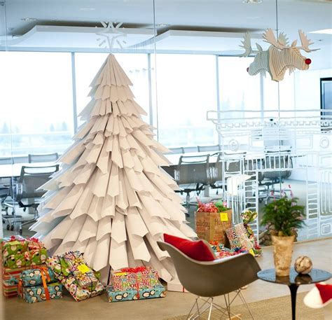 paper tree cheap christmas tree ideas popsugar smart