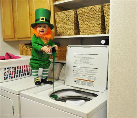 st patricks day  kids  dads cute leprechaun