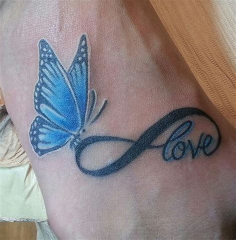 Best 25+ Infinity butterfly tattoo ideas on Pinterest
