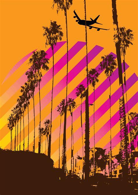 california dreaming vector art graphics freevectorcom