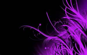 Black and Purple Abstract Wallpaper HD 1365 - HD Wallpaper ...