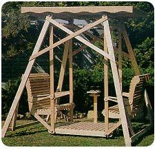canopy glider swing plans woodworking plans  patterns