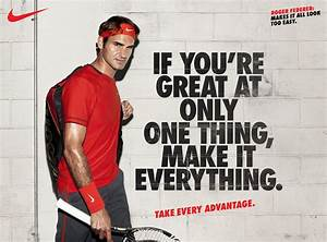FA11 Nike Tennis campaign | Roger Federer | Sports ...