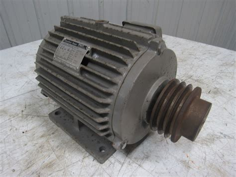 Induction Electric Motor by Fuji Electric Mlp6107a Excellent Power 3ph Induction