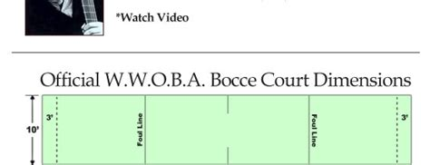 size of bocce court bocce bella mom rico s specialty market
