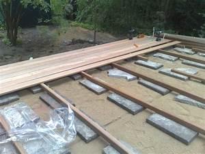 Terrasse holz auf betonplatten for Holz auf terrasse