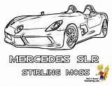 Coloring Cars Mercedes Mclaren Cool Boys Colouring Fast Super Race Lamborghini Drawing Bugatti Sheet Slr Porsche Spyder sketch template