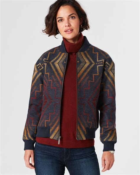 sunrise cross bomber pendleton
