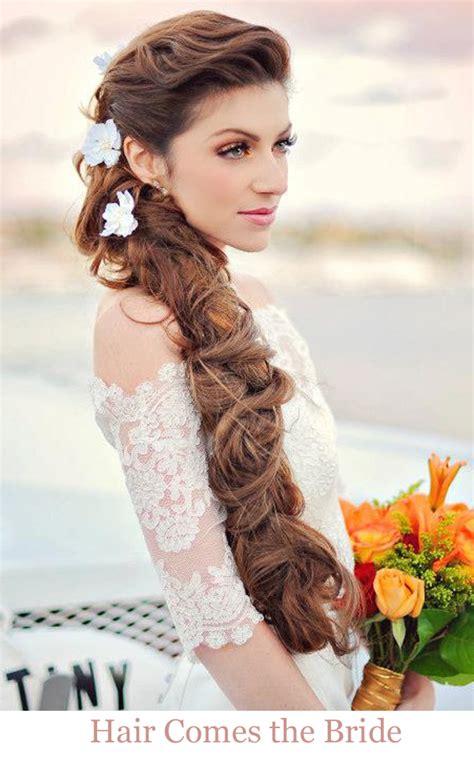 12 romantic beach bridal hairstyles hair comes the bride