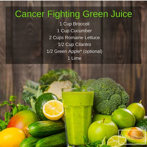 cancer fighting juicing juice vegetable recipes fruit guide drjockers juicer juices foods smoothie keto