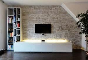 Wandverkleidung Stein Innen : kunststein wandverkleidung in einem haus kunststein wie naturstein das leichteste paneel auf ~ Orissabook.com Haus und Dekorationen