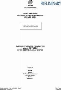 Elta Adt406s Elt Model Adt 406s  Emergency Locator