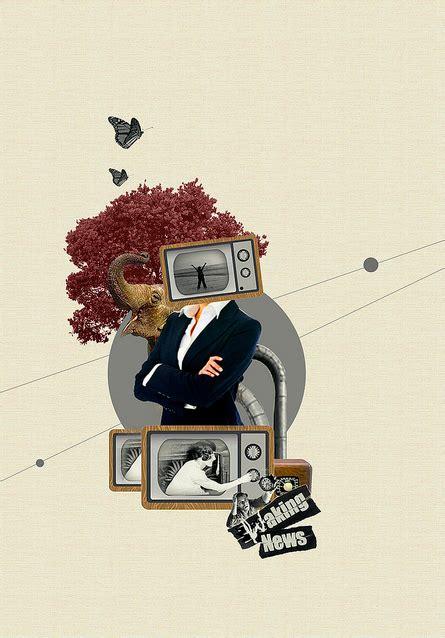 striking digital collages graphic art news