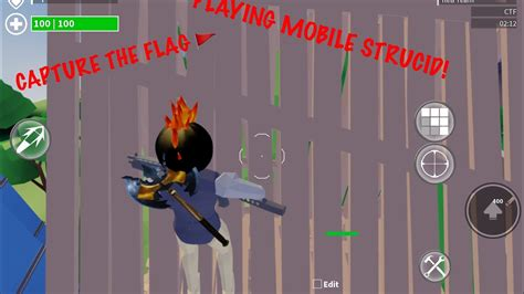 playing mobile strucid gameplay video roblox strucid