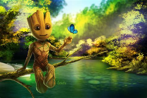Baby Groot By Tsaoshin On Deviantart