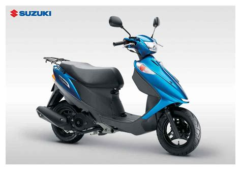 Review Suzuki Address by Suzuki Uz125 Or V125g Address Review