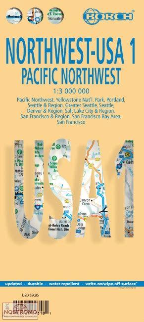 Carte Touristique Nord Ouest by Usa Nord Ouest Carte Touristique Borch Nostromoweb