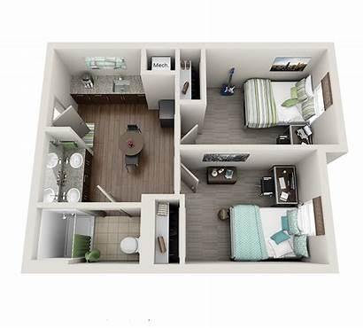 Dorm Layout Layouts Uky Suite Bedroom College