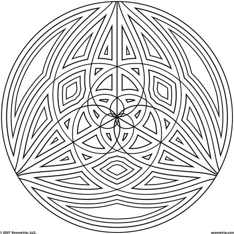 Cool Coloring Designs by Cool Geometric Design Coloring Pages Coloring Home