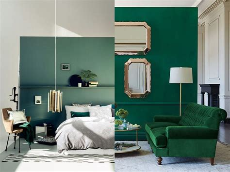 sofa verde de que color las paredes fant 225 sticas ideas para decorar en color verde tu hogar